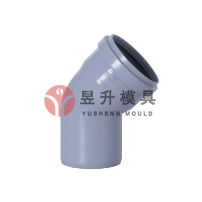 China PPH pipe fitting mold