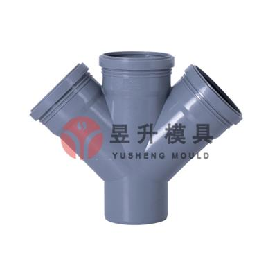 PPH collapsible pipe fitting mould