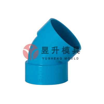 45 deg elbow mold