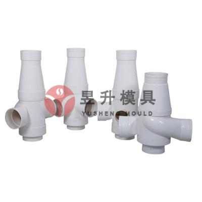 Plastic silence pipe fitting mold