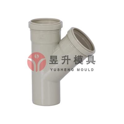 PP Plastic collapsible pipe fitting mold