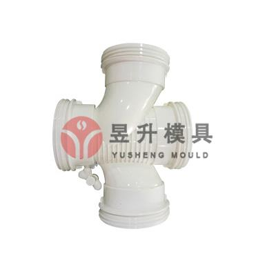 Plastic PVC silence pipe fitting mold