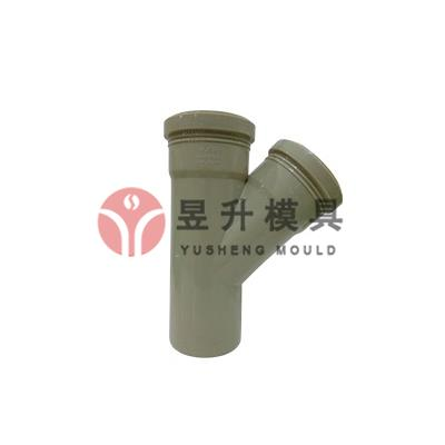 PP Wye tee fitting mold
