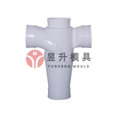 China PVC silence pipe fitting mould